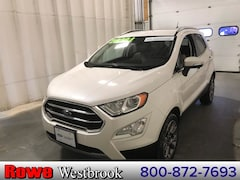 2018 Ford EcoSport Titanium Leather/Moonroof/Navigation SUV