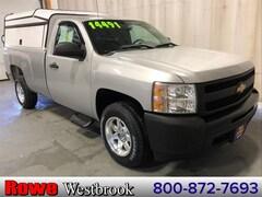 2011 Chevrolet Silverado 1500 Work Truck 8' Longbed Truck