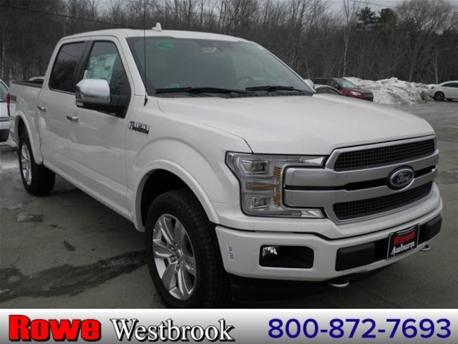 2019 Ford F-150 Platinum Truck For Sale in Westbrook, ME