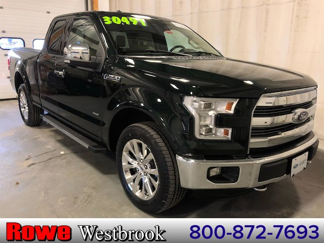 2015 Ford F-150 Lariat 502a Moonroof/Navigation/20