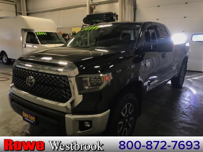 2018 Toyota Tundra SR5 Trd-Off Road Truck For Sale in Westbrook, ME