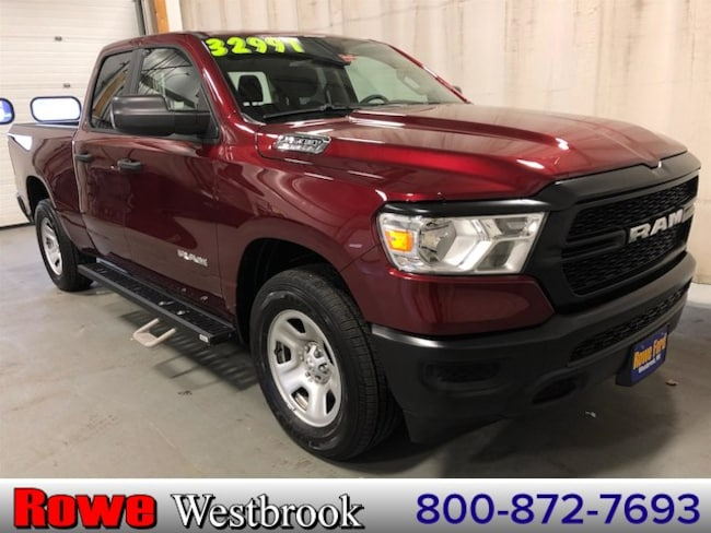 2019 Ram 1500 Tradesman New Style! Super Low Price! Like New! Truck For Sale in Westbrook, ME