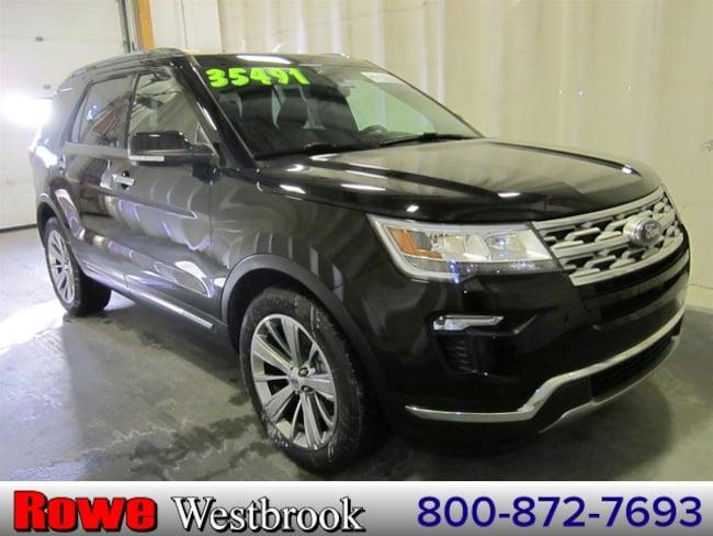 2018 Ford Explorer Limited Moonroof/Navigation SUV