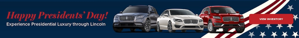 Lincoln Presidents' Day Sales Event