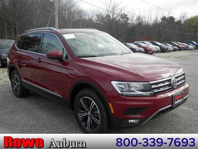 New 2019 Volkswagen Tiguan For Sale at Rowe Volkswagen Auburn | VIN:  3VV2B7AX7KM024840