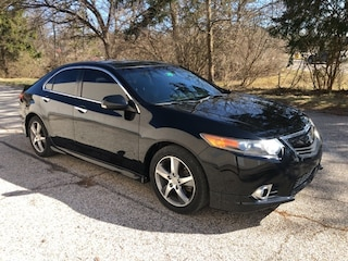 Used 2012 Acura TSX Special Edition Sedan JH4CU2F82CC026367 P8890B in Bloomington, IN