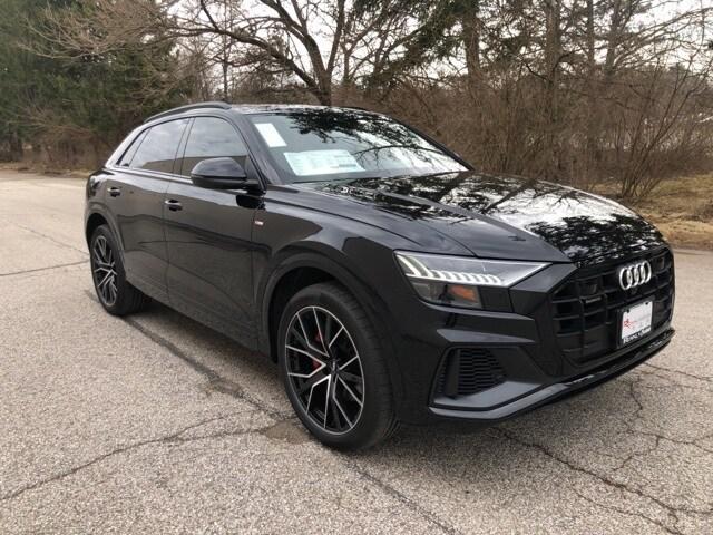 New 2019 Audi Q8 3.0T Premium Plus SUV for sale in Bloomington, IN