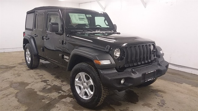 New 2018 Jeep Wrangler UNLIMITED SPORT S 4X4 Sport Utility for sale in Oneonta, NY