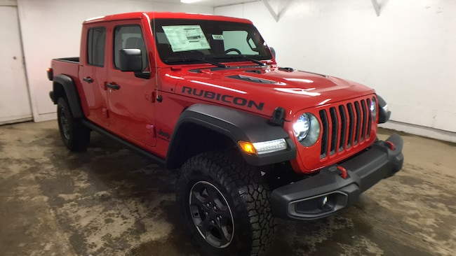New 2020 Jeep Gladiator RUBICON 4X4 Crew Cab for sale in Oneonta, NY