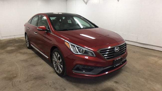 Certified Pre-Owned 2015 Hyundai Sonata Limited 2.0T Sedan for sale in Oneonta, NY
