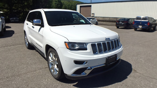Certified Pre-Owned 2015 Jeep Grand Cherokee Summit 4x4 SUV for sale in Oneonta, NY