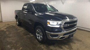 2019 Ram All-New 1500 BIG HORN / LONE STAR QUAD CAB 4X4 6'4 BOX Quad Cab 1C6SRFBT0KN855271