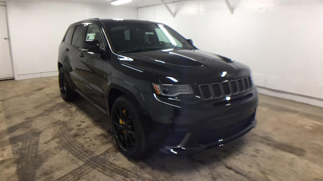 New 2018 Jeep Grand Cherokee TRACKHAWK 4X4 Sport Utility For Sale In  Oneonta, NY