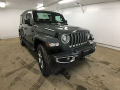 New 2018 Jeep Wrangler UNLIMITED SAHARA 4X4 Sport Utility for sale near Oneonta, NY