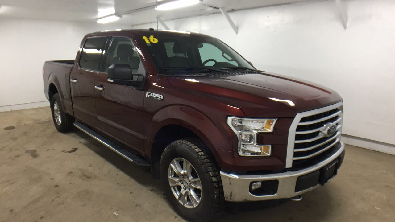 Featured Pre-Owned 2016 Ford F-150 4x4 Truck SuperCrew Cab for sale in Oneonta NY