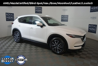 Certified Pre-Owned 2018 Mazda Mazda CX-5 Grand Touring SUV PS8304 for Sale near Wilsonville, OR, at Royal Moore Mazda