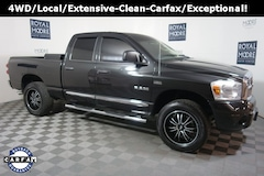 Used 2008 Dodge Ram 1500 Truck Quad Cab 1D7HU18278S571753 for Sale in Hillsboro, OR, at Royal Moore Subaru