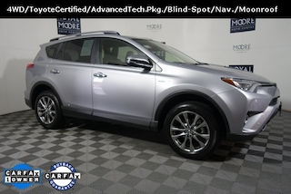 Certified Pre-Owned 2018 Toyota RAV4 Hybrid SUV TS7886 for Sale near Wilsonville, OR, at Royal Moore Mazda