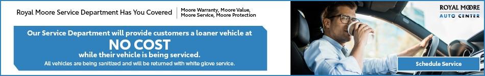 Service Department Announcement
