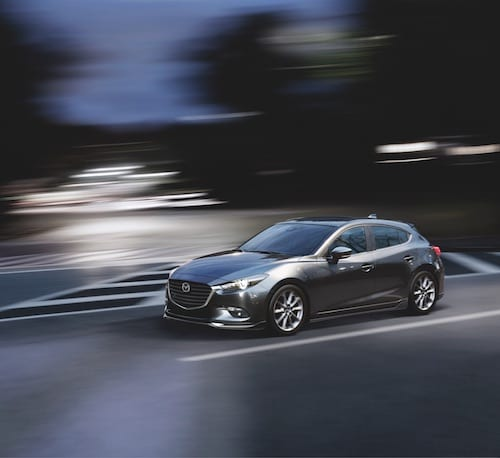 The Mazda3 ...
