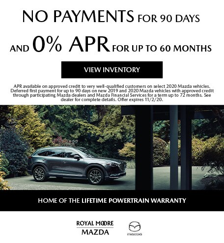 October No Payments for 90 Days