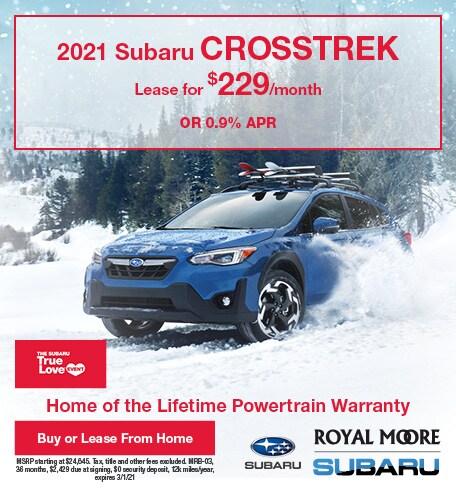 February 2021 Subaru Crosstrek
