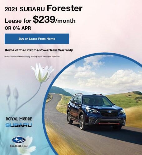 May 2021 Subaru Forester