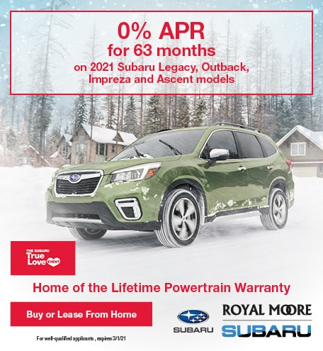 February 2021 0% APR for 63 Months