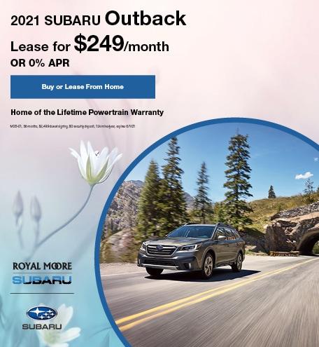 May 2021 Subaru Outback