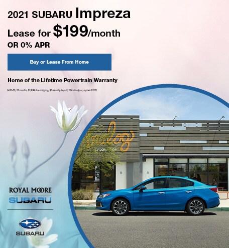 May 2021 Subaru Impreza