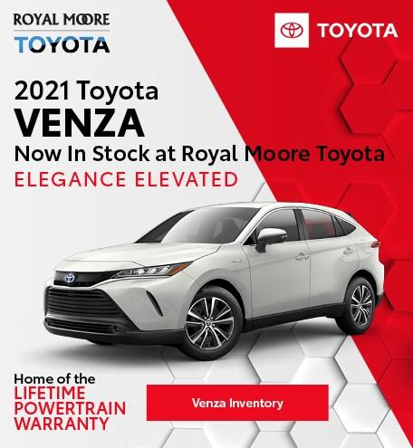 October 2021 Toyota Venza