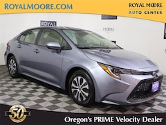 Used 2021 Toyota Corolla Hybrid LE 4 for Sale in Hillsboro OR at Royal Moore Toyota