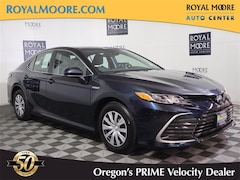 Used 2021 Toyota Camry Hybrid LE 4 for Sale in Hillsboro OR at Royal Moore Toyota