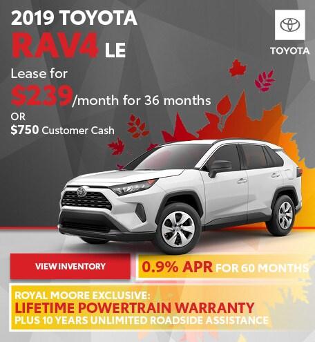 September 2019 Toyota RAV4