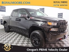 Used 2021 Chevrolet Silverado 1500 Custom Trail Boss Truck for Sale in Hillsboro, OR, at Royal Moore Toyota