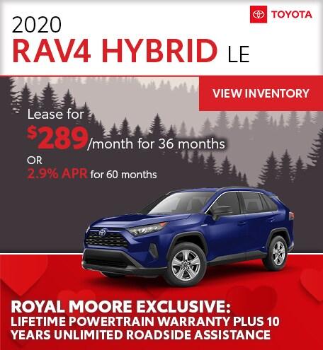 February 2020 Toyota RAV4 Hybrid
