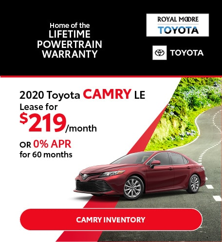 August 2020 Toyota Camry