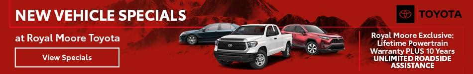 January 2020 New Vehicle Specials