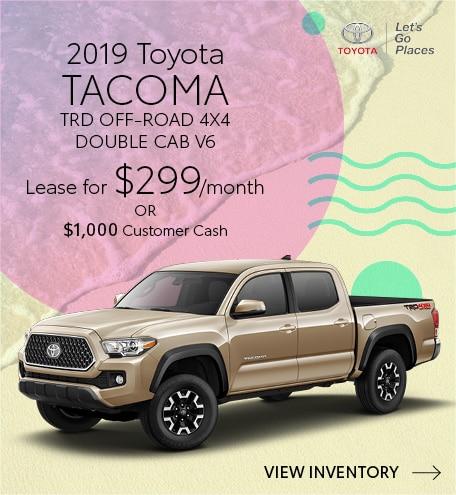 July 2019 Toyota Tacoma