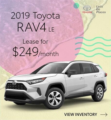 July 2019 Toyota RAV4