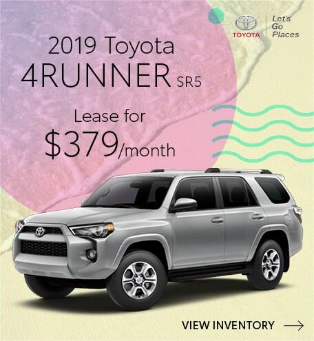 July 2019 Toyota 4RUNNER