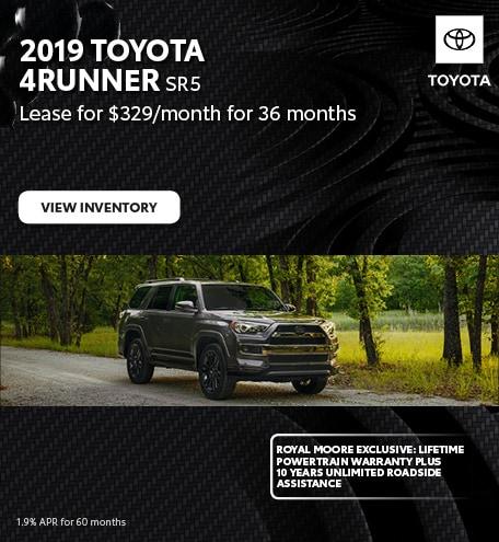 November 2019 Toyota 4Runner