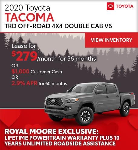 February 2020 Toyota Tacoma
