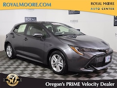 Used 2021 Toyota Corolla Hatchback SE 5 for Sale in Hillsboro OR at Royal Moore Toyota