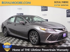 New 2021 Toyota Camry XLE Sedan 81193X for Sale in Hillsboro, OR, Royal Moore Toyota