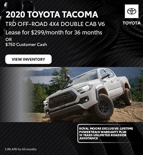 November 2020 Toyota Tacoma