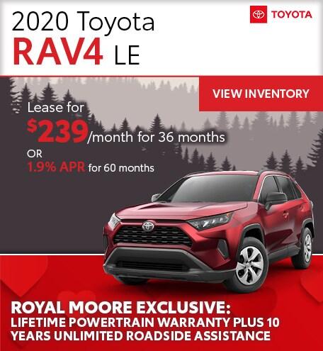 February 2020 Toyota RAV4