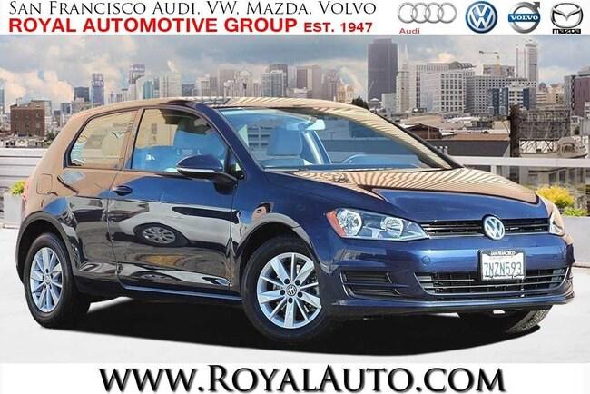 2015 Volkswagen Golf TSI S 2-Door Hatchback