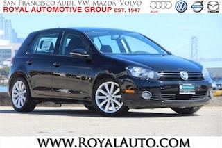 2012 Volkswagen Golf TDI 4-door Hatchback