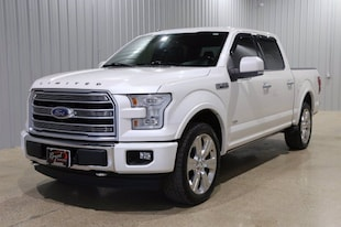 2017 Ford F-150 Limited SuperCrew 5.5-ft. Bed 4WD Truck SuperCrew Cab